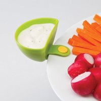Wholesale New Dip Clips A Dip and Clip relish plate Pepper easy clean up dishwashier safe in set order lt no tracking