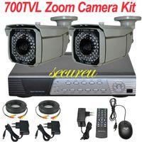 best audio video camera - Best cctv surveillance alarm audio system ch CCTV kit IR sony effio TVL cctv security video camera ch D1 HD DVR recorder