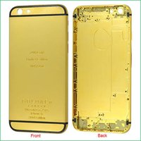 Wholesale 24K Gold Plating Battery Back Housing Cover Skin for iPhone quot