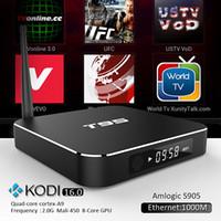 google internet tv box - Amlogic S905 T95 G Ram TV Box Quad Core GB ROM Media Boxes G GHz Dual WiFi KODI ADD ONS Pre installed Google Internet TV Box