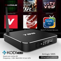google internet tv box - T95 Metal Case Amlogic S905 Quad Core Andorid TV BOX GB GB G GHz Dual WiFi KODI ADD ONS Pre installed Google Internet TV Box