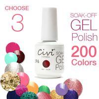 Wholesale Civi Nail Gel Colors Nail Gel Polish Diamond on Nails UV Nail Gel Long lastting up to Days