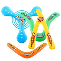 Wholesale 4Shapes Lightweight Genuine Returning Sporting Throwback Kids Colorful BoomerangOutdoor Fun