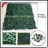 artificial grass - 2015 cm artificial boxwood grass mat garden hedge grass fence square boxwood hedge outdoor fencing artificial grass indoor decoration