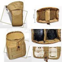 Wholesale Portable Bags liner For Camera With Low Price New Design Khaki Color Digital SLR DSLR Camera Bags Liner