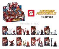 Wholesale New Minifigures SY281 ABS Plastic Building Block Sets Toys For Children No Original Box