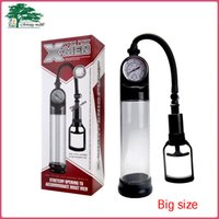 Wholesale Big Size Male Manual Penis Enlarge Pump Device Vacum Penis Pumps Adult Sex Toys For Men Christmas Gift