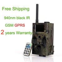 Wholesale Suntek GPRS GSM Hunting Game Cameras HC300M MMS GSM Hunting Cameras Trail Cameras with antenna