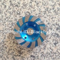 Wholesale 4 inch Diamond Cup Wheel Segment Type Grinding Wheel Disc Grinder Concrete Granite Marble Tile Stone DCW01