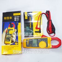 Cheap Wholesale-Fluke 302+ Clamp Meter AC   DC Handheld Multimeter Current Voltage Resistance Measures AC current to 400 A