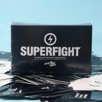 Wholesale S SUP SUPERFIGHT Card Core Deck Superfight Card Superfight Game Hallowmas Christmas Gift B CARDS