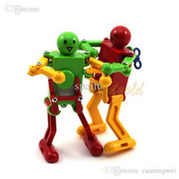 Wholesale Funny Kids Child Clockwork Wind Up Dancing Robot Toy Development Baby Toy Cool