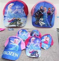 Wholesale Frozen Elsa Ninja Turtles Cartoon Ball Cap Girls Hats Kids Cap Beanie Hat Caps Girl Sun Hat Children Caps Girls Caps Kids Hat Baseball Hat