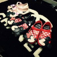 Wholesale Mickey Minnie Sandal Shoes Kids Sandals Childrens Shoes Boys Girls Jelly Sandals Summer Sandals Kids Footwear Children Sandals C18865