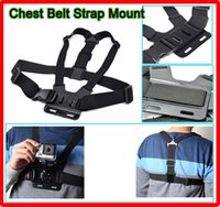 Wholesale New Gopro accessories Action Camera Adjustable Chest Belt Mount Harness Chesty Strap For GoPr HD Hero2 Hero3