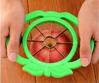Wholesale Hot Kitchen Gadgets Apple Cutter apple slicer knife stainless steel fruit cutter