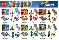 Wholesale New Ninja Flying Rotary Remote Ninjago Minifigure Building Block Kids Educational Toys Ninjagoed
