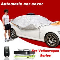 Wholesale New Arrival Automatic Car Cover Remote Control Automatic Car Covers One Button Operation for VW Volkswagen Phaeton MAGOTAN PASSAT Touareg