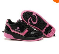 roller skate shoes - New Child heelys skate roller shoes with wheels kids shoes sneakers for children boys girls zapatillas zapatos de ruedas