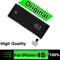 Wholesale New Original High Quality Lithium Ion Battery For Iphone4 S C G S Plus Li ion Cell Phone Batteries Mobile Accessories Replacement