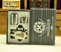 Cheap Hammer E Pipe Mod Kit Mechanical E-Pipe Mod E Cigarette fit for CE4 CE5 Vivi Nova U-DCT Atomizer Electronic Cigarette