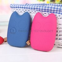 Wholesale 10PCS Cartoon Totoro Emergency PowerBank mAh USB Portable Charger Power Bank External Backup Battery Pack for S5 S4 Note UPS Free
