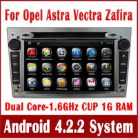 Wholesale Android PC Car DVD Player for Opel Vectra Astra Zafira Corsa Antara w GPS Navigation Radio TV BT MP3 USB SD AUX DVR G WIFI Audio Video