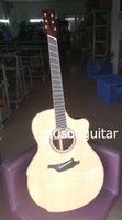 Wholesale New brand acoustic fanned fret guitar with ebony fingerboard