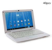 Wholesale 40X inch Mini laptop VIA8880 Netbook Android laptops VIA8880 quot Dual Core Cortex A9 Ghz MB GB GB GB Netbook BJ