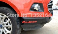 Cheap Exterior Accessories Car Stickers Auto front bumper protecting sticker for Ecosport 2013 2014, auto exterior accessories,free shipping