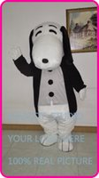 Wholesale Snoopy Suit - peanuts family snoopy Mascot costume hot sale Adult size cartoon character fancy dress carnival costume outfit suit MC60183
