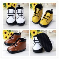 Wholesale Cheap Wholesale Loafer Shoes - Baby Girls Boys Shoes Children Party Leather Loafer Shoes Kids Moccasins Soft Sole Shoes Cheap Walking Shoes High Help Casual Shoes GZ-S94