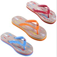 Wholesale price hot sales Summer beach US flag slippers Flip flops Slipper EVA shock absorption scuff men shoes