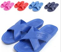 cheap slippers - 2015 new hot selling Cheap Bathroom slippers Summer beach sandals and slippers Slip Wear resistant Indoor couple slippers