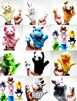 Wholesale 2015The new children s plush toy hand puppet doll cute doll factory plush hand puppet toy puzzle