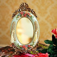 antique makeup vanities - Factory outlets European antique makeup mirror vanity mirror ornaments home accessories gifts to share FZ519