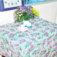 Wholesale Disposable tablecloth plastic printing waterproof cloth Special disposable tablecloth restaurant