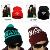 baseball party supplies - Diamond Supply Co World Beanie Basketballs Baseball Hip Hop Snapback Hats Custom Knitted Cap Snapbacks Popular hat cap for man woman