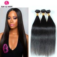 Wholesale Brazilian Virgin Hair Straight a Unprocessed Human Hair Weave Straight g Natural Black Brazillian Virgin Human Hair Extensions