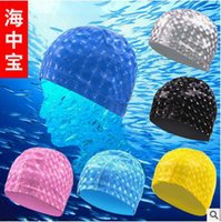 Wholesale 200pcs CCA3555 High Quality Colorful Ultra Premium PU Silicone Swim Cap Great Comfortable Fit for Long And Short Hair Unisex Swimming Caps