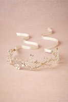 Fascinators beautiful hair ribbons - High Quanlity Tiaras Stunning bridal Shinny Crown for Beautiful Bride Hair Accessories