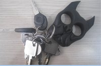 Wholesale 5 pc Dog or Skull Shaped Brutus Key chain Self Defense Personal Security Women s self defense