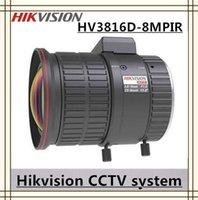 aspherical camera lens - Hikvision Camera Lens DC IRIS Manual Vari focal Lens mm MP IR Aspherical len HV3816D MPIR