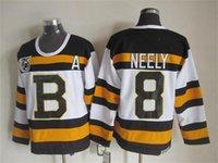 Wholesale Boston Hockey jersey Cam Neely jersey Bruins Neely jerseys ice hockey jersey for men size M XXXL mixed order high quality