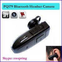 Wholesale 4GB bluetooth camera Bluetooth Earphone headset Style mini spy Camera dv dvr Bluetooth Earphone hidden Camcorder PQ179