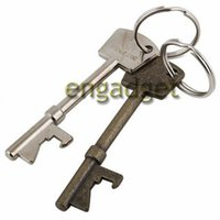 metal bottle opener - 800pcs Novelty Mini UK New Bottle Opener Key Ring Keyring Chain Metal Bar Tool Bottle Opener Coca Can Opening tool wth Key Ring