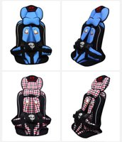 Wholesale New four color Portable Baby Child Kids Car Safety Booster Seat Cover Harness Cushion