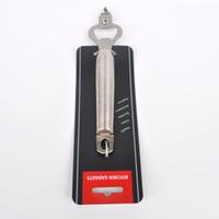 beer can handle - boeng stainless steel handle round open beer bottle opener to open the can opener kitchen gadgets BX