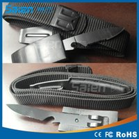belt buckle knives - MASTER Leather Belt Knife Waistband knife Knives Outdoor