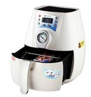 venta caliente ST-1520 3D Mini sublimación al vacío máquina de prensa de calor de la máquina para las cajas del teléfono C1 versionl
